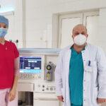 Закарпатський обласний центр легеневих хвороб виконав перші операції із застосуванням нової наркозної станції